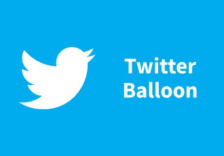 Twitter Ballon