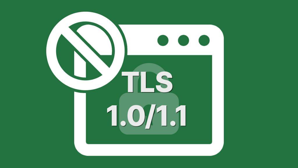 TLS1.0/1.1